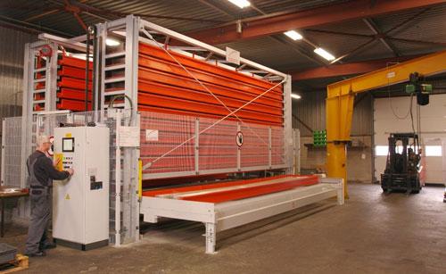 Nieuwe manier van opslaan van materiaal blijkt een succes voor TMB de Jong B.V.